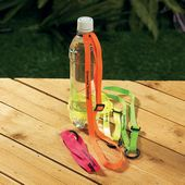 Neon Water Bottle Holders Imprinted