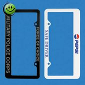 License Plate Frame (Two Hole) -2D