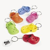 Rubber Slipper Key Chains - Imprinted