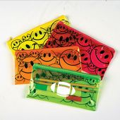 Smile Face Pencil Cases Imprinted*