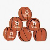 Vinyl Basketball Kick Balls