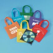 Non-Woven Bright Tote Bags - Imprinted