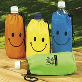Smile Face Water Bottle Insulator-Imp.