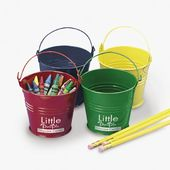 Tinplate Pails Bright Colors -Impr