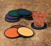Rich Leatherette Coasters