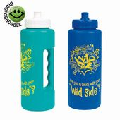 32 oz Grip Bottle - with Push N Pull Cap
