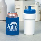 16 oz Sport Bottle with Removeable Koozie