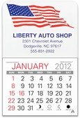Patriotic Value Stick Calendar