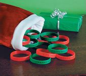 Holiday Sayings Bracelets - Bulk