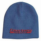 Embroidered Knit Cap