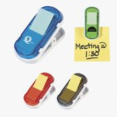 Magnet Clip with Sticky Notes