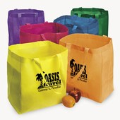 Bright Nonwoven Shopper Tote