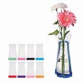Clear Foldable Flexi Vase