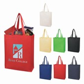Matte Laminated Nonwoven Shopper Totes