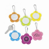 Flower Mirror Key Chains