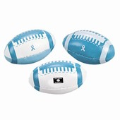Teal Ribbon Footballs