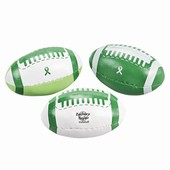Green Ribbon Footballs