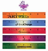 "6"" Wooden Mood Ruler"