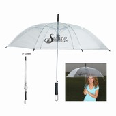 "46"" Clear Arc Umbrellas"