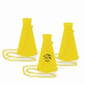 Yellow Megaphone Necklace