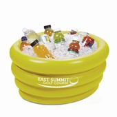 Yellow Inflatable Tub Cooler