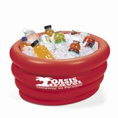 Red Inflatable Cooler Tub
