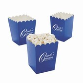 Mini Blue Popcorn Buckets