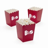 Mini Red Popcorn Buckets