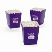 Mini Purple Popcorn Buckets